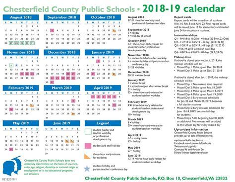 chesterfield county public schools calendar world printable chart