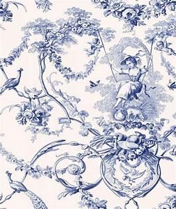 Toile De Jouy : 1000 ideas about toile de jouy on pinterest toile toile wallpaper and french fabric ~ Teatrodelosmanantiales.com Idées de Décoration