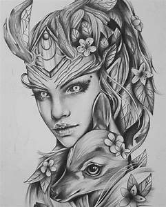 114 best girl tattoo faces images on Pinterest
