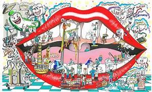 3d Pop Art : 3d pop art new release mouth under construction fazzino ~ Sanjose-hotels-ca.com Haus und Dekorationen