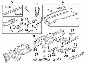 Cadillac Deville Instrument Panel Wiring Harness  Part