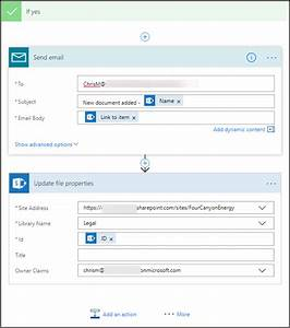 support for sharepoint document library properties flow blog With document library properties