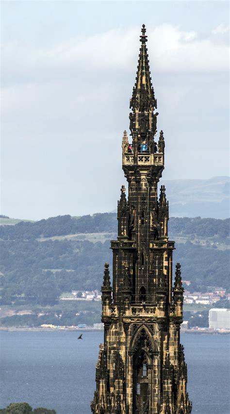 edinburgh tower iii  scott monument   largest