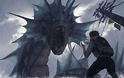 Pokemon Wlop Wallpapers Artist Deviantart Lu 4k
