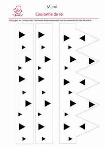 Couronne En Papier à Imprimer : couronne de roi imprimer ~ Melissatoandfro.com Idées de Décoration