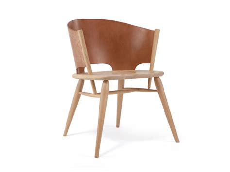 gareth neal s handcrafted leather straw wood chairs at