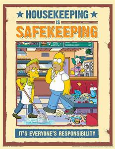 Simpson's Safety Posters