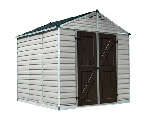vertical tool shed suncast 54 cu ft vertical storage shed the home depot 3130