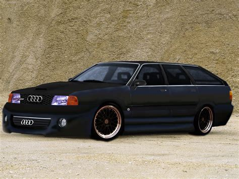 Audi 100 Avant Quattro 1984 Tuning By Jdimensions27 On