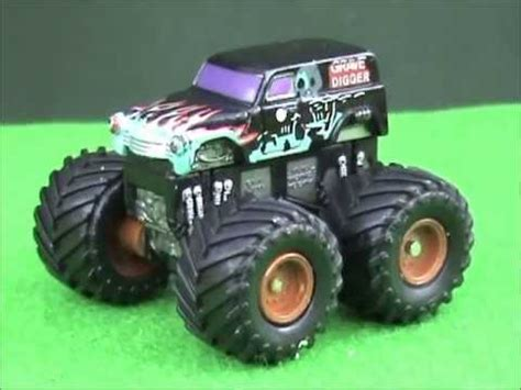 grave digger monster truck youtube micro machine grave digger monster truck youtube