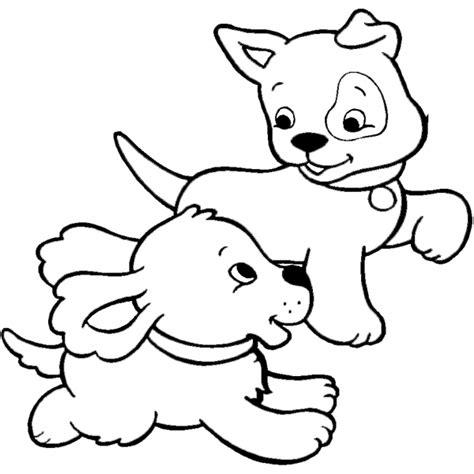 disegni da colorare bambina  cane
