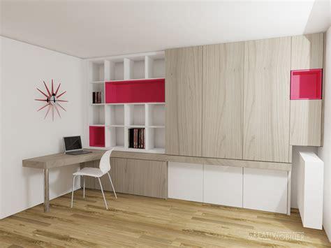 meuble de bureau sur mesure création de bibliothèques bureaux meubles salon sur