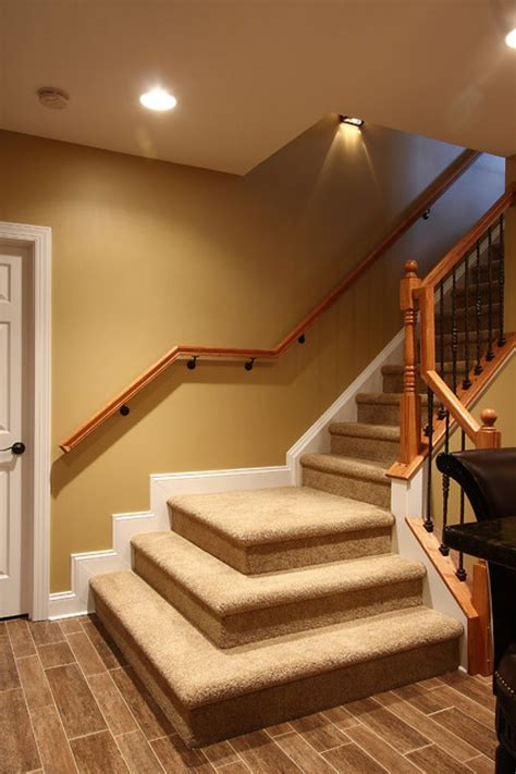 wrought iron spindles basement stairs pictures from stairspictures com