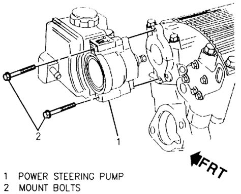 repair guides steering power steering pump