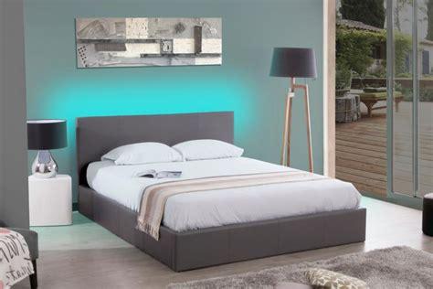 tete de lit led comment installer un ruban led sur une tete de lit