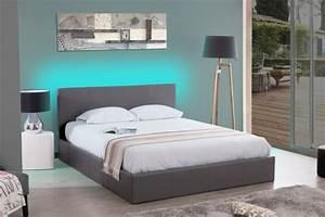 Tete De Lit Avec Led : comment installer un ruban led sur une tete de lit ~ Teatrodelosmanantiales.com Idées de Décoration