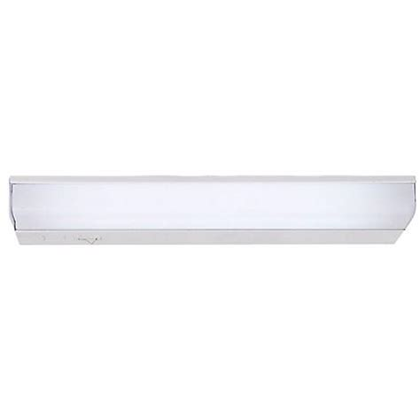fluorescent 12 quot wide direct wire cabinet light