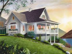 Small lake cottage house plans economical small cottage for Small cottage house plans for homes