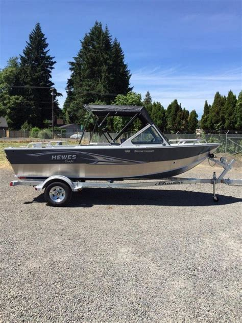 Hewes Boat Dealers Oregon by Hewescraft 18 Sportsman Boats For Sale