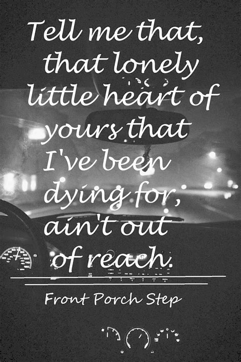 Front Porch Step Lyrics by Front Porch Step Front Porch Step Front