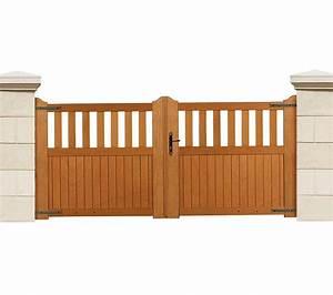 Portail En Bois : choisir de peindre son portail en bois ~ Premium-room.com Idées de Décoration