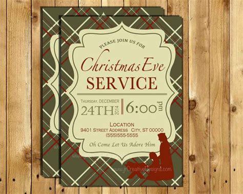 christmas eve service invitation christmas eve invite