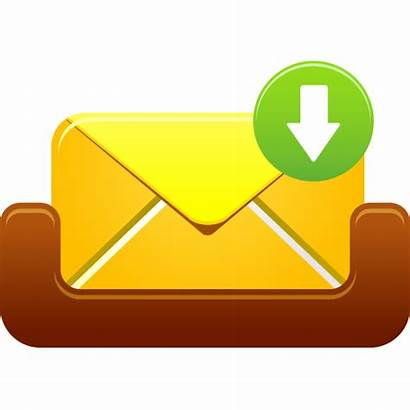 Icon Received Message Mailbox Office Kotak Surat