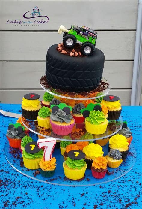 ideas  monster truck cakes  pinterest