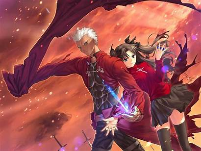 Night Fate Stay Archer Rin Unlimited Blade