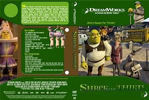 Shrek The Third - Movie DVD Custom Covers - Shrek 3 :: DVD ...