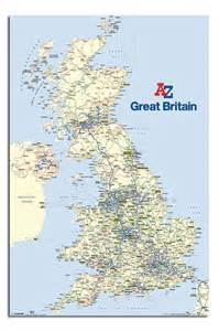 Great Britain Map Large