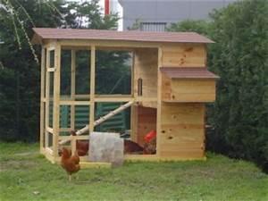 Construire Un Poulailler En Bois : fabriquer sois meme son poulailler bois poules elevage divers mod les de poullaier en bois ~ Melissatoandfro.com Idées de Décoration