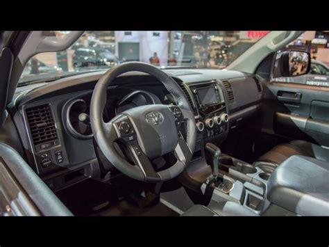 2018 Toyota Sequoia Trd Sport  Interior And Exterior