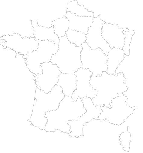 Carte Région Administrative Vierge by Cartes Muettes De La 224 Imprimer Chroniques