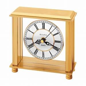 Bulova Cheryl Table Clock Model B1703