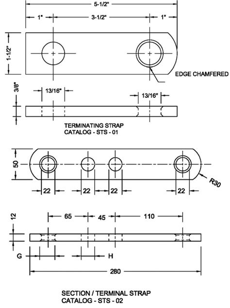Section / Terminal Strap   A.DAMIANO