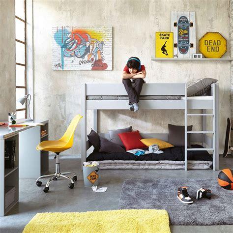 Matelas Enfant 90x190 by Matelas Enfant En Coton Gris 90x190 Maisons Du Monde