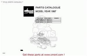 Yamaha G16-ap  Ar 1996  1997   Title  Parts Catalog