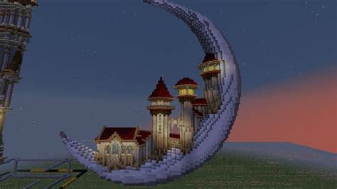 moon houses style   minecraft architecture minecraft projects minecraft plans