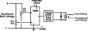 ne555 based low voltage battery cutoff circuit With following circuit diagram show two comparator circuits using the lm101