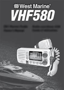 Download West Marine Marine Radio Vhf580 Manual And User