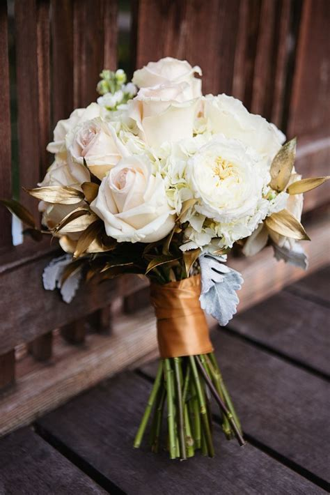 pin   knot  wedding bouquets gold wedding