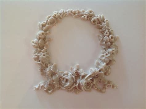 not shabby appliques shabby n chic french provincial vintage furniture applique large rose wreath ebay