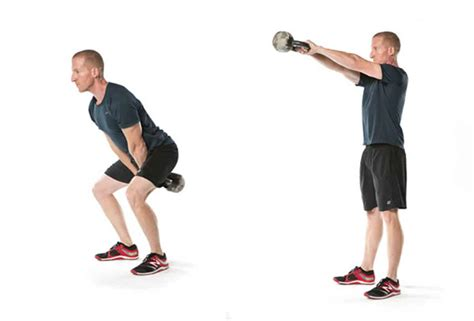 swing kettlebell swings ejercicios kettlebells leg hinge hip crossfit cuerpo todo tu knees fitness power tonificar