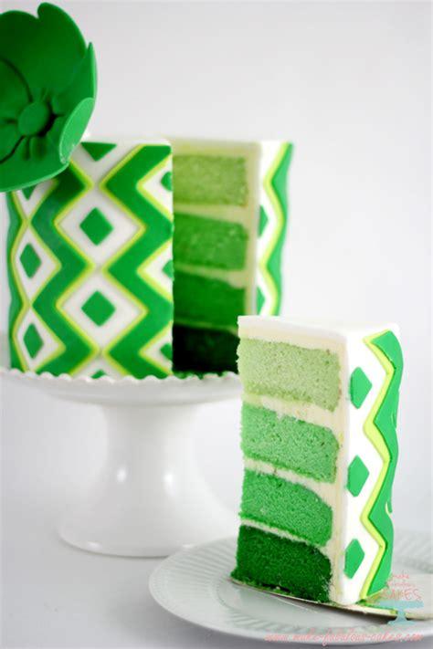 st patricks day lime cake