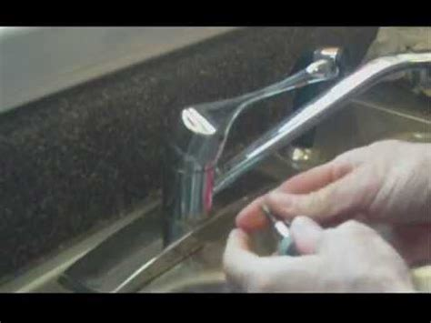 repair  leaking kitchen faucet youtube