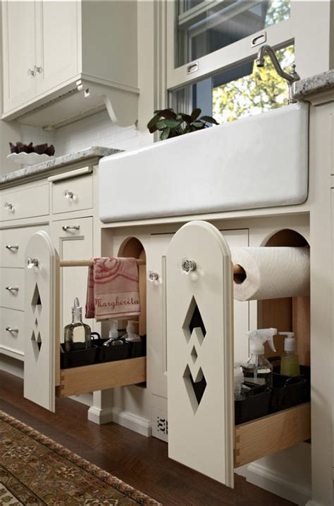 kitchen towel bars ideas 15 ideas how to maximize and creatively arrange the space