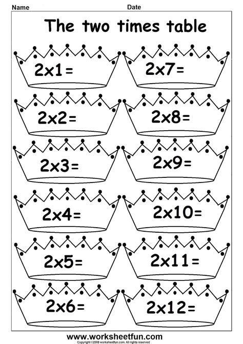 multiplication 2 s matematik multiplication times