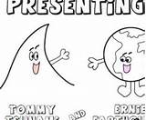 Tsunami Coloring Tommy Writing Classroom sketch template