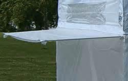 ez  canopy   awning kit white hutshopcom